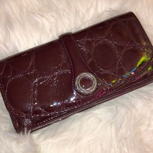Brighton Leather Pat Wallet Excellent Condition